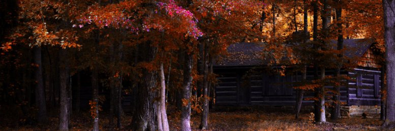 The Cabin by UriahGallery viz DeviantArt.com