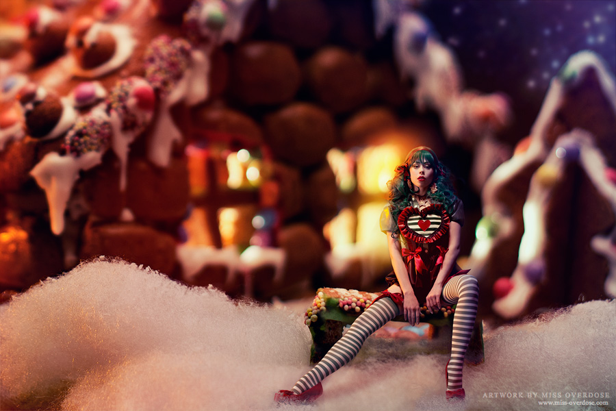 Miss Gingerbread by Ophelia-Overdose via DeviantArt.com